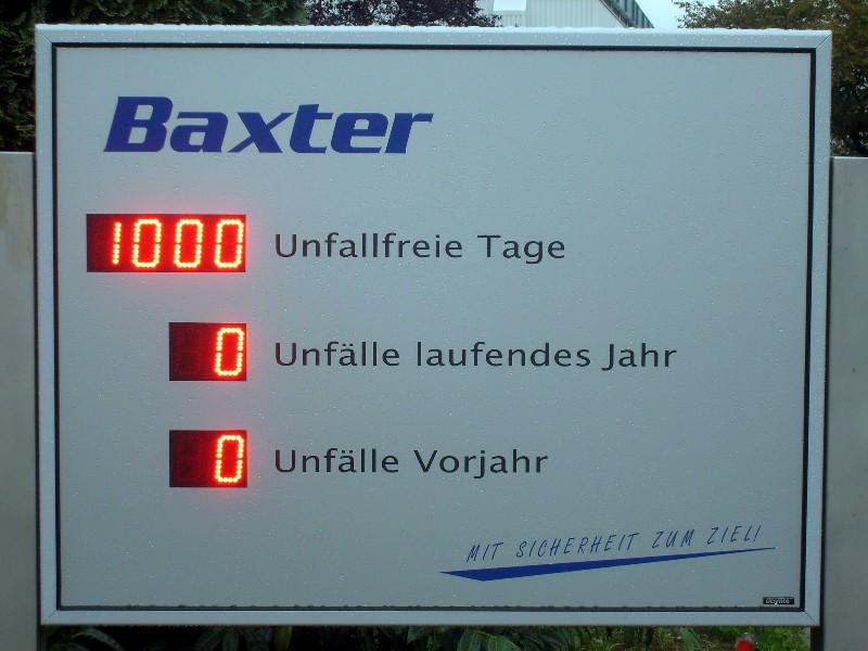 Daylite®: LED-ANZEIGE UNFALLFREI